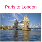 Tour from Paris to London