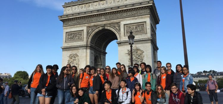Welcome to our students: 3 days in Paris to become acclimatised